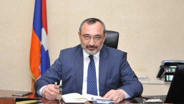 Minister of Foreign Affairs of Artsakh Karen Mirzoyan