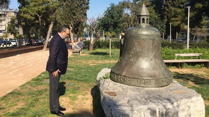 FM Mirzoyan visited the monument to the victims of the Armenian Genocide