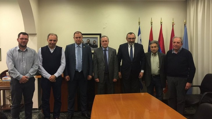 FM Karen Mirzoyan met with members of the ARF Central Committee of Greece