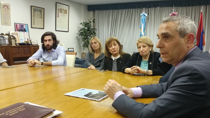 Working Visit of Artsakh Delegation to Argentina Has Started | NKR