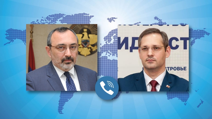 Telephone Conversation between the Foreign Ministers of Artsakh and Transdniestria